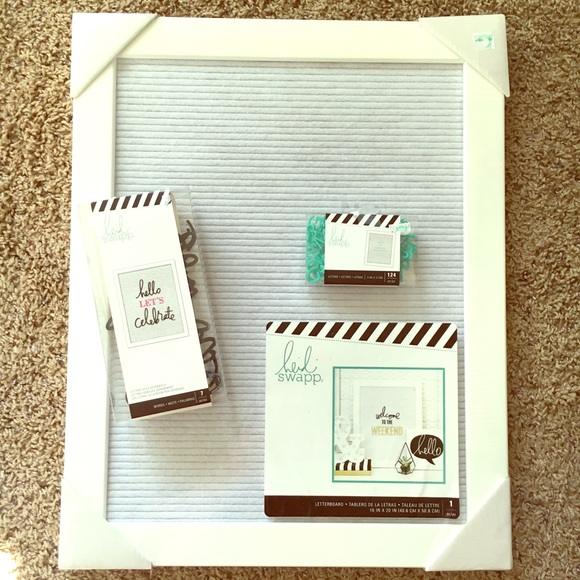 heidi swapp Accessories | Hobby Lobby Letterboard And Letters